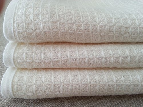 Waffle weave blanket with linen edge, 59x80, 80x98, Machine Washable! FREE SHIPPING