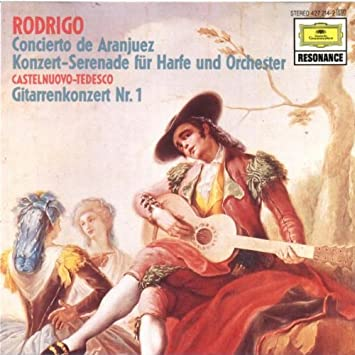 Amazon.com: Rodrigo: Concierto de Aranjuez, Concert Serenade ...