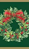 Entertaining with Caspari Holly Wreath Matches