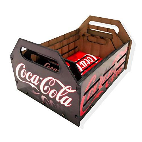 Kit Caixa Decorativa - Coca Cola