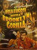 DVD Belalugosi Meets a Brooklyn Gorilla! Finally Digitally Remastered!! {74 Minutes}
