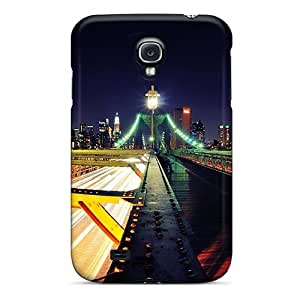 Special Wade-cases Skin Case Cover For Galaxy S4, Popular Road To New York City Phone Case