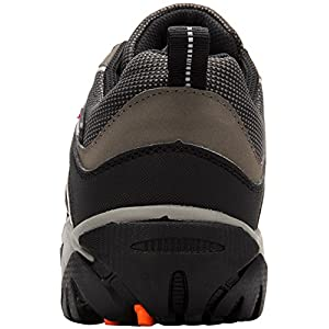 Men's Work Safety Shoes,Modyf Steel Toe Puncture Proof Footwear Industrial and Construction Shoes (12, Black)