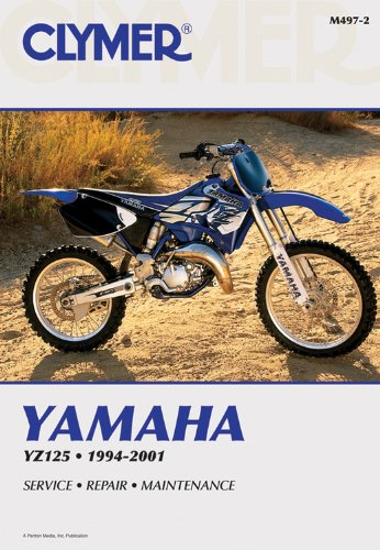 Yamaha YZ125 1994-2001 (CLYMER MOTORCYCLE REPAIR)