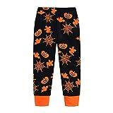 Csbks Toddler Kids Halloween Pajamas Orange Boys