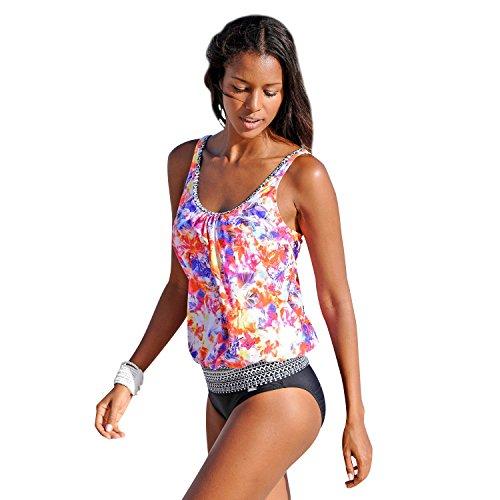 Tankini Bikinis Trajes de Baño Mujer Bikini Raya Traje de Baño dos Piezas Bañadores Señoras Braga Ropa de Baño Mujeres Vestidos de Baño Swimsuit Swimwear Top Shorts Deportivo Dama Rosa