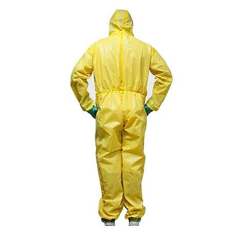 GZYF Ropa Protectora Ropa de protección química con ácido de ...