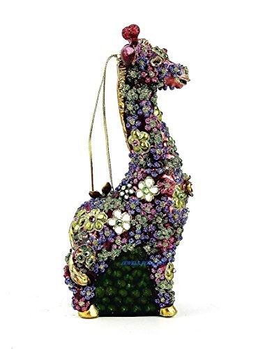 Mille Fiori Giraffe Ornament