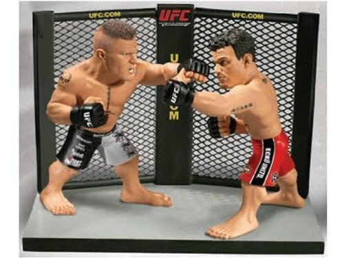 Round 5 UFC Versus Series 1 Action Figure 2Pack Brock Lesnar Vs. Frank Mir UFC 100