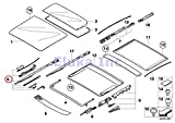 BMW Genuine Front Sunroof Repair Kit For Sunroof Glass X3...