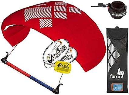 Stunt Kite HQ4 Fluxx 2.2 Trainer Kite-boarding Power Lines Bar Kite Killer