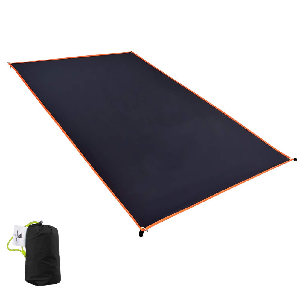 Geertop 1 Person Ultralight Waterproof Tent Tarp Footprint Ground Sheet Mat, for Camping, Hiking, Picnic (4 Sizes) by Geertop