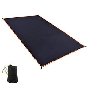 GEERTOP 1-4 Person Ultralight Waterproof Tent Tarp Footprint Ground Sheet Mat, for Camping, Hiking, Picnic