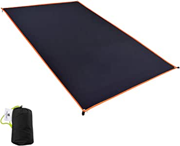 GEERTOP 1-4 Person Ultralight Waterproof Tent Tarp Footprint Ground Sheet Mat for Camping Hiking Picnic (4 Sizes)