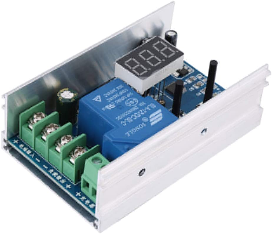 Under Voltage Control Module Over-discharge Protection Storage Battery Module 10V-60V 30A for Storage Batteries And Lithium Batteries.