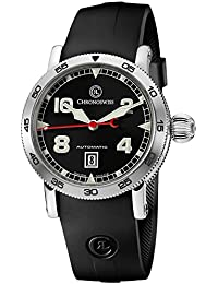 Timemaster Date Automatic Stainless Steel Mens Strap Watch Calendar CH-8643/71-2