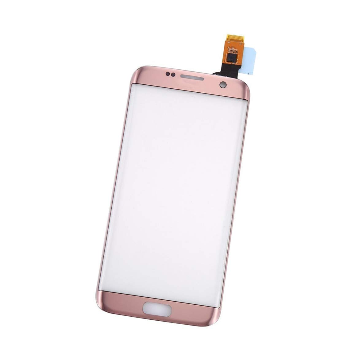 for Samsung for Galaxy S7 Edge Replacement Touch Screen Digitizer Outer  Front Glass for G935V G935P G935F G935T G935A (not Include LCD - Pink)