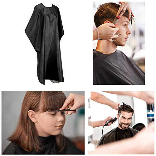 Hair Cutting Cape Coloring Cloak Beard Dye Apron Salon Hairdressing Smock Shampoo Resistant Cloth Cover