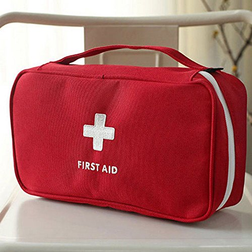 Price comparison product image JUJU MALL-Travel First Aid Kit Bag Home Emergency Medical Survival Rescue Box