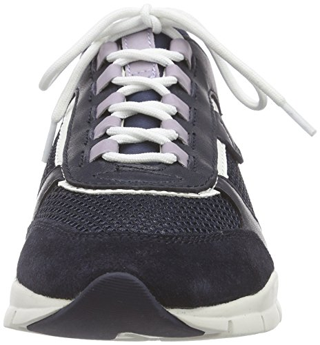 Geox Sneakers Blau Top Low D B Blue WoMen Navyc4002 Sukie rwx7Yrqg
