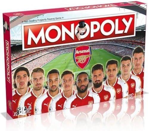 Arsenal F.C. Edition Monopoly Official Merchandise: Amazon.es: Juguetes y juegos
