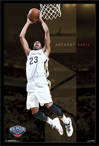 Trends International New Orleans Pelicans – Anthony Davis Wall Poster, 24.25 X 35.75 , Multi