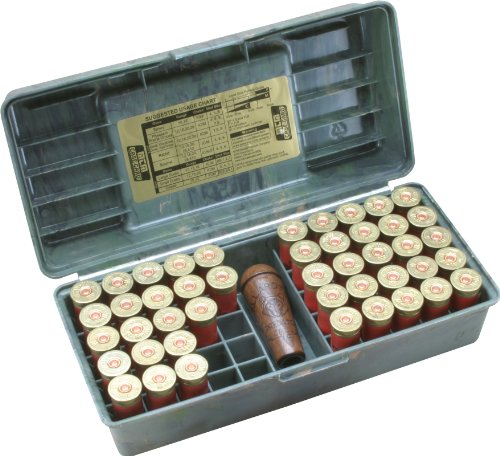 MTM 50 Round Shotshell Handled Case (12 Gauge, Wild Camo), (Model: SF-50-12-09)
