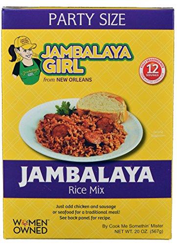 Jambalaya Girl Rice 20 ounce Pack product image