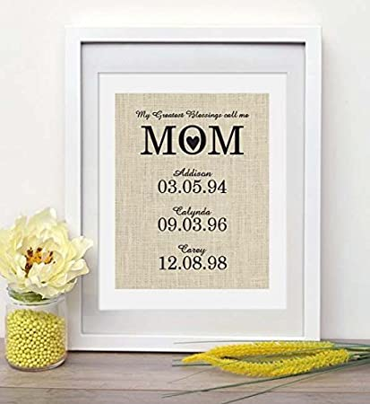 amazon com gift for valentaine s day personalized gift for mom or