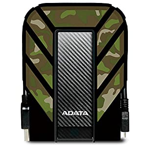 ADATA HD710M 1TB USB 3.0 Waterproof, Dustproof, Shock Resistant - External Hard Drive - Camouflage Image
