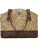 American West Women's Annie's Concealed Carry Half Moon Tote Sand One Size