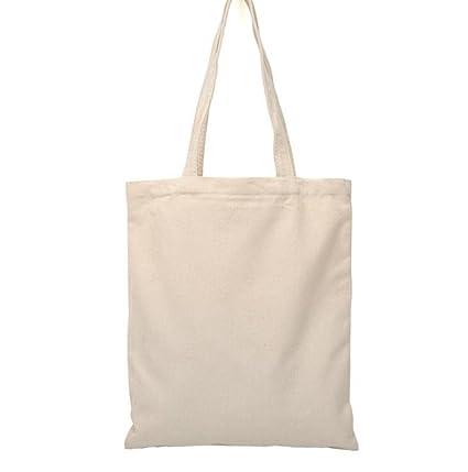 07b89746dd WeiMay Borsa da Donna Tote Shopping Bag Grande(Tela Bianca e Rossa):  Amazon.it: Casa e cucina
