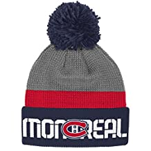 Montreal Canadiens Cuffed Pom Knit Toque