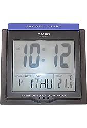 Casio #DQ750F-1DF Multi Function Digital Thermometer Table Top Alarm Clock
