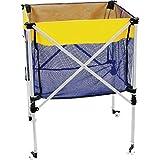 Ball Carrying CART, Premium Material with Wheels - Basketball, Soccer, Baseball, Golf Balls, Tennis Balls and More