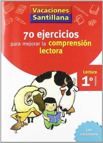 Vacaciónes Santillana, Lectura, Comprensión Lectora, 1 Educación Primaría. Cuaderno