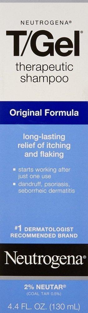 Neutrogena T/Gel Therapeutic Shampoo Original Formula 4.40 oz (Pack of 6) by Neutrogena
