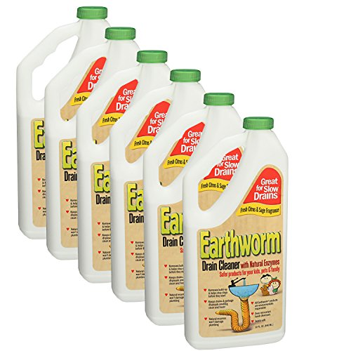 Earthworm Family-Safe Drain Cleaner 32 ()