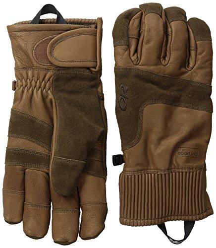 Outdoor Research Men's Rivet Gloves, Coffee, ()
