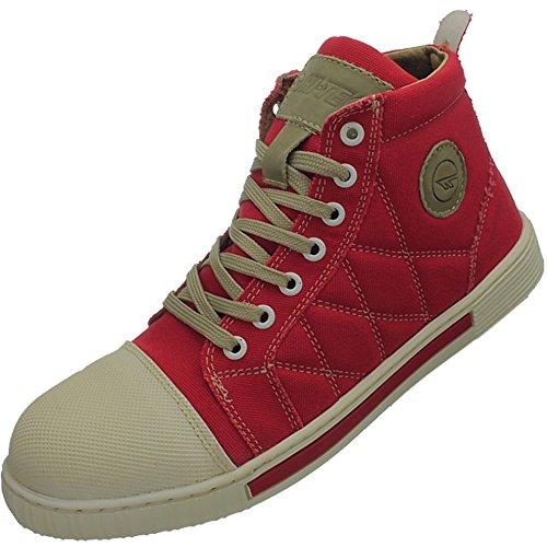 Chaussures HI-TEC ST Figaro unisexe sécurité Rouge W002277 / 100