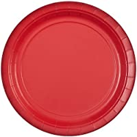 Party Dimensions 8.75-Inch Paper Plate, 20 Count, Red