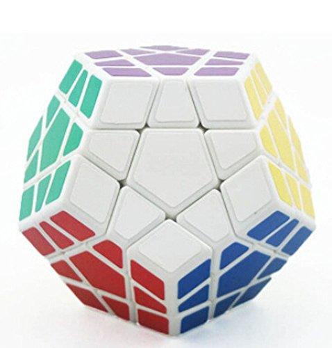 Shengshou Megaminx Puzzle Speed Cube-white