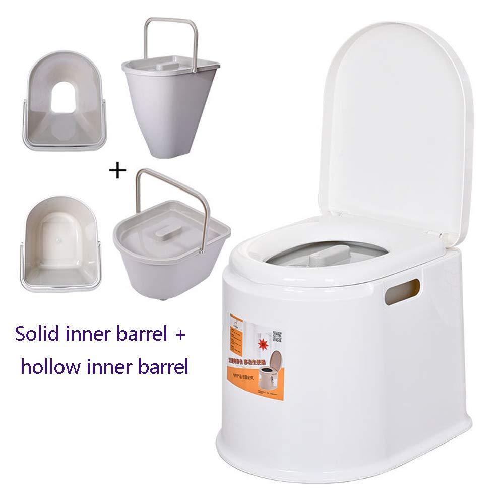 Bewegliche Toilette, Die Starken Rutschfesten Entfernbaren Toilettentoilettenschwangerfrauen Plastiktoilettenstuhl  Gewöhnlichen Erhöht,F