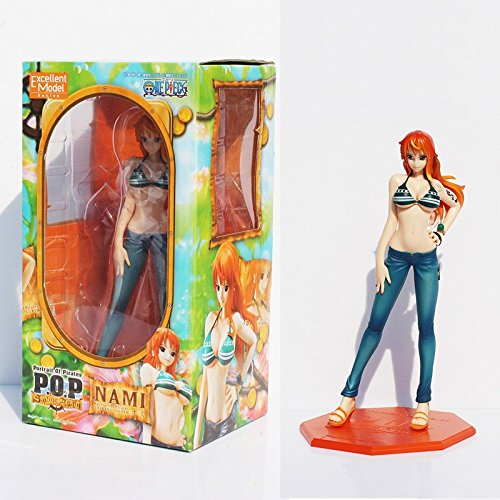P.O.P POP Nami After 2 Years Sexy Boxed PVC Action Figure Collection Model Toy Gift OPFG035 (Figure Gift Boxed)