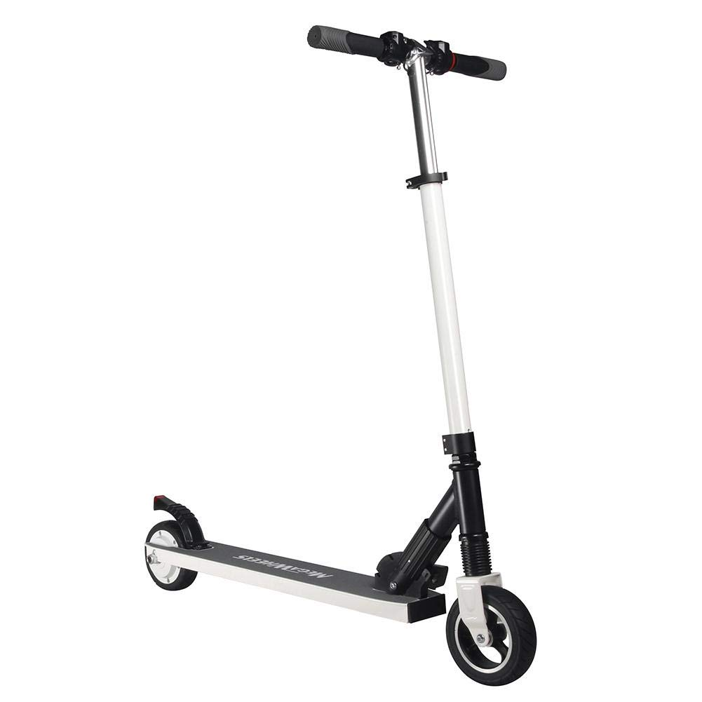 Foerteng-us Electric Scooter with Shock Absorbers,4.0Ah, 18650 14series Battery, Foldable Adult Electric Scooter,Up to 23km/h,6.0inch Commuting Scooter for People by Foerteng-us (Image #1)