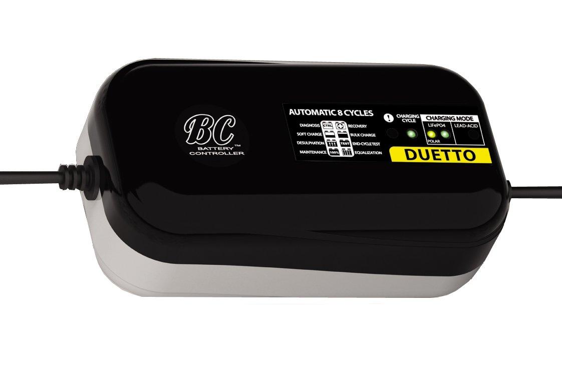 Caricabatteria e mantenitore automatico e digitale per batterie al litio//LiFePO4 Tester di batteria e alternatore BC LITHIUM 7000-12V 7A
