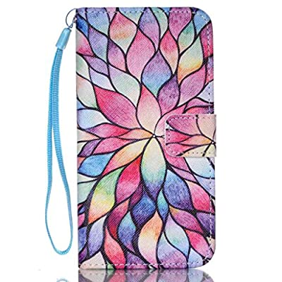 UNEXTATI Galaxy S6 Edge Plus, Premium Wallet Case + Silicone Cover for Samsung Galaxy S6 Edge Plus, Leather Case with Wrist strap, Card-Slot, Kickstand, Magnet Clip