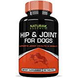 Dog Supplements :: Hip & Joint Support for Dogs :: Promotes General Health and Mobility :: High Quality All Natural Ingredients :: 60 Tablets Per Bottle :: Natural Essence Labs