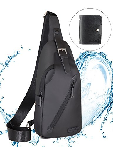 LST Sling Bag Wterproof Crossbody Backpack Outdoor Cyclin...