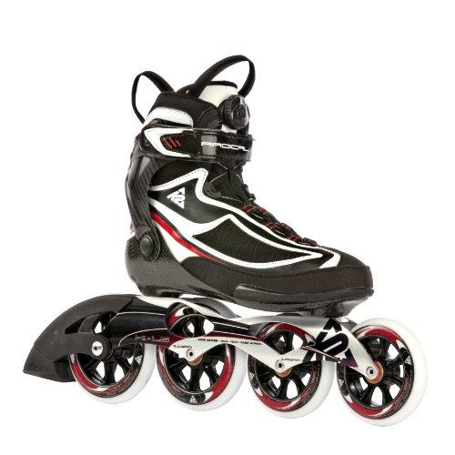 K2 Sports Radical Pro Training 2012 Inline Skates (Black/Silver/Red, 7)